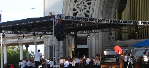 San Diego Symphony at Balboa Park's Spreckels Organ Pavilion