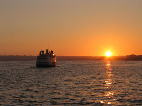 San Diego Sunset - Port of San Diego, North Embarcadero