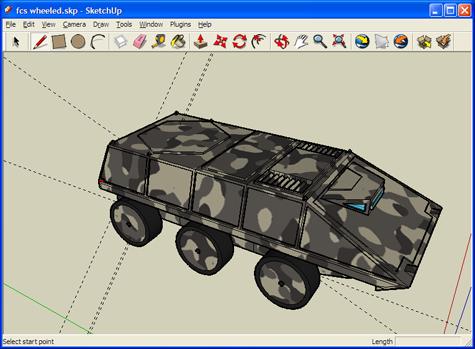 Sketchup Model Example